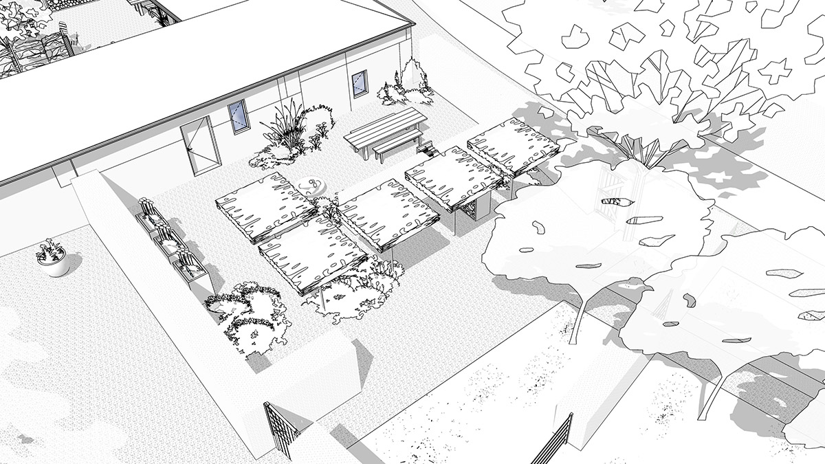 Concept plan for luxury holiday cottage barn conversions